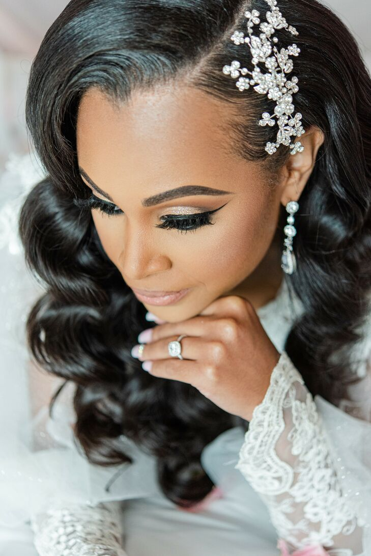 Bride Getting Ready for Wedding at The River View at Occoquan in Lorton, Virginia