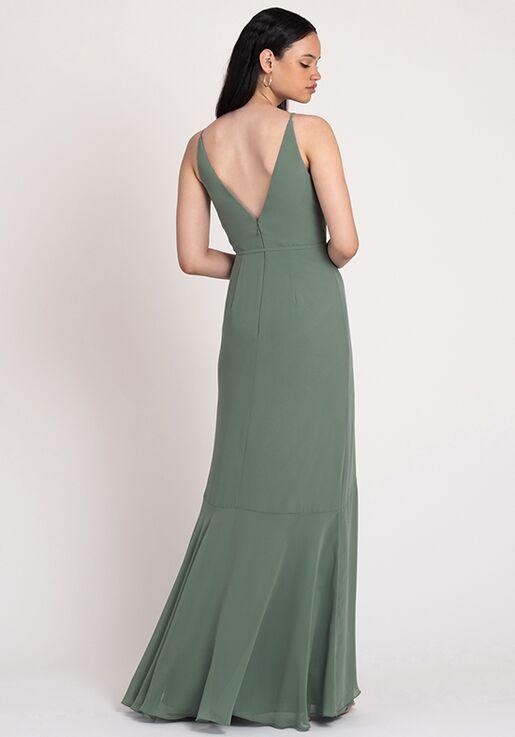 Jenny Yoo Collection (Maids) Ensley V-Neck Bridesmaid Dress
