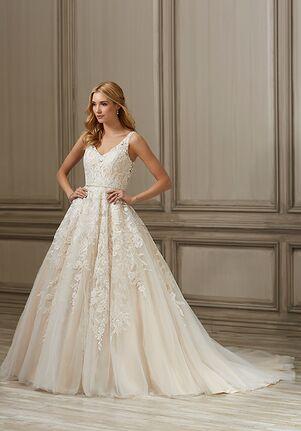 Adrianna Papell Platinum Ember Ball Gown Wedding Dress