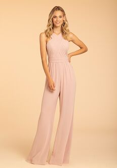 Hayley Paige Occasions 52000 Halter Bridesmaid Dress