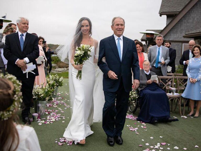 Barbara Bush Wedding Dress