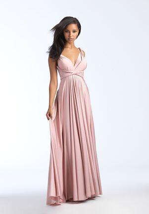 Allure Bridesmaids 1566 V-Neck Bridesmaid Dress
