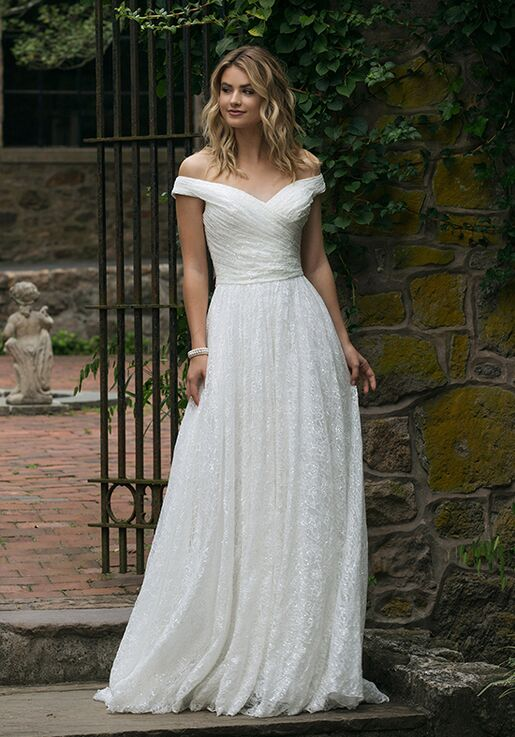 Sincerity Bridal 44049 A-Line Wedding Dress