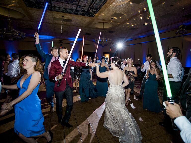 dancing with lightsabers
