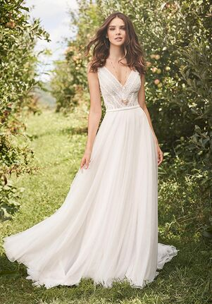 Lillian West 66122 A-Line Wedding Dress