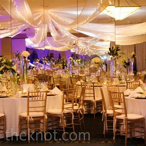 Gold and White Decor