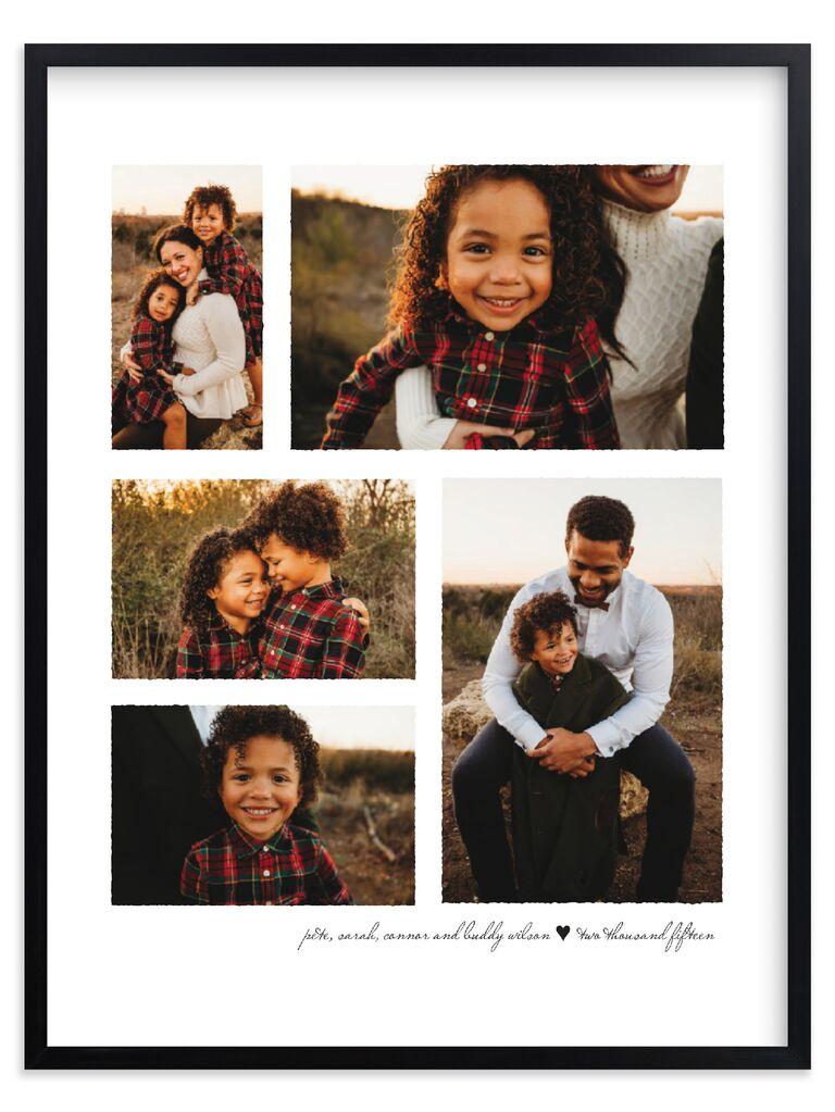 Photo collage gift idea