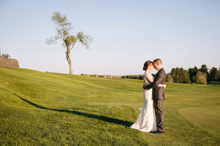A Red Barn at The Outlooks Farm Wedding