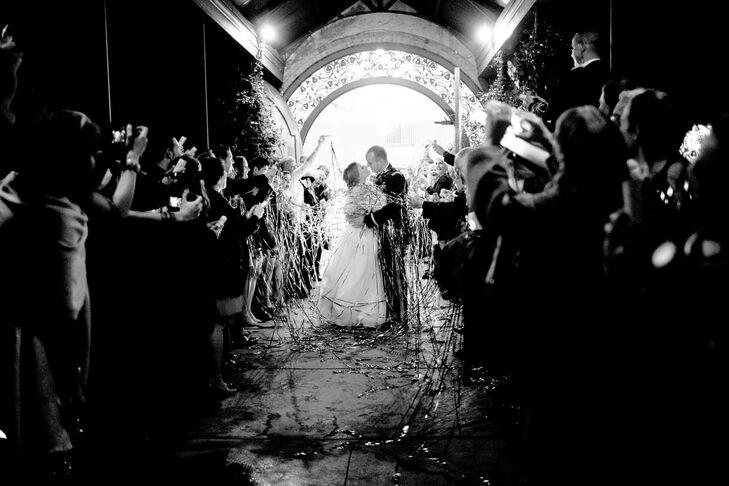 Olde Dobbin Station Wedding Exit