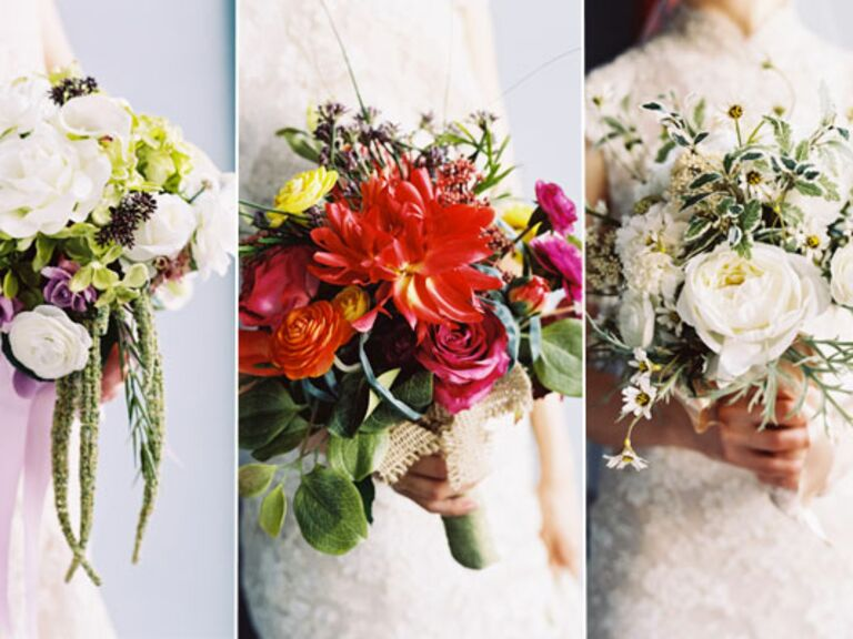 Alternatives to Flower Wedding Bouquets? - Wedding Flowers - Wedding ...