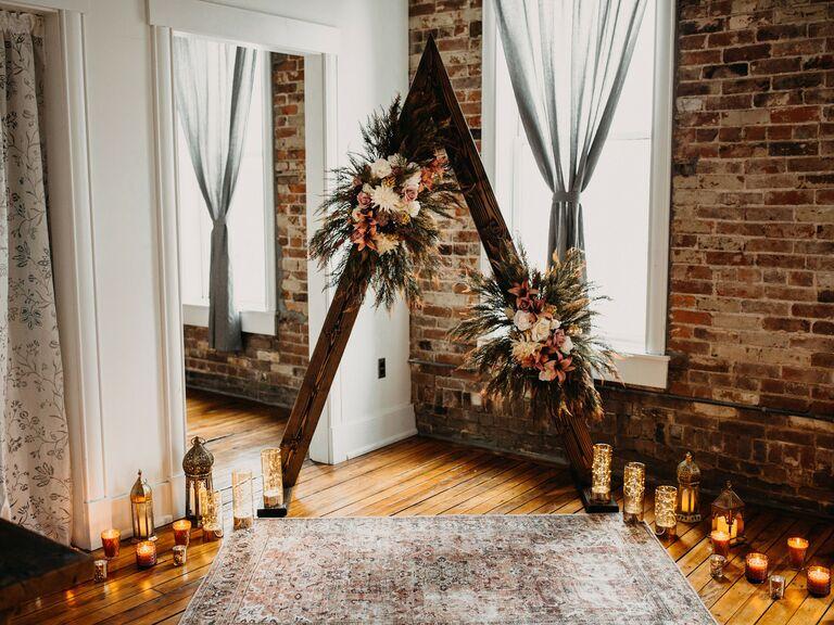 how to choose wedding vendors apartment wedding