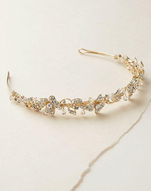 Dareth Colburn Marci Floral Headband (TI-3169) Silver Headband