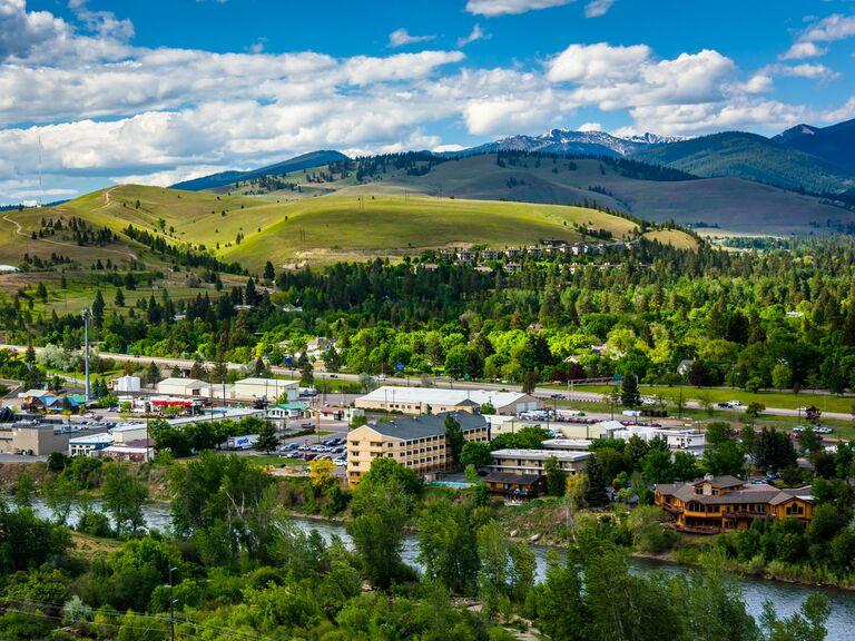 Missoula Montana mountains