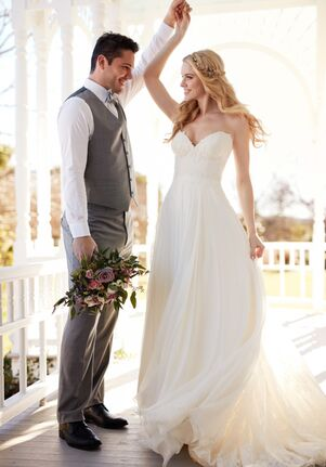 Martina Liana Calais + Shiloh A-Line Wedding Dress