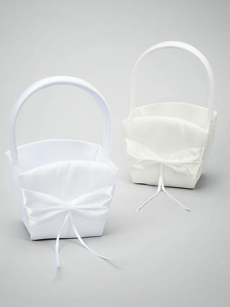 31 adorable flower girl baskets diy flower girl basket mightylinksfo