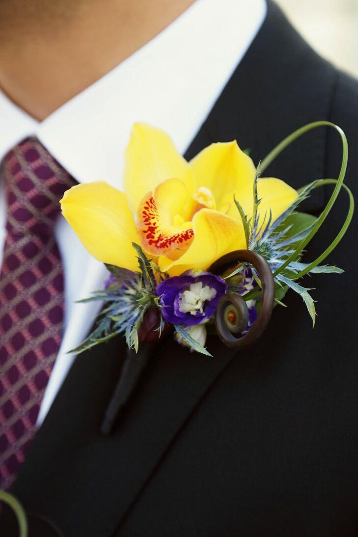 Yellow Daffodil Boutonniere