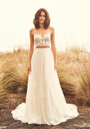 Lillian West 66090 A-Line Wedding Dress