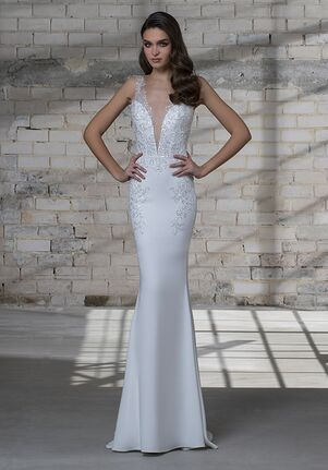 LOVE by Pnina Tornai for Kleinfeld 14691 Sheath Wedding Dress