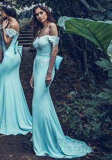 CocoMelody Bridesmaid Dresses PR3497 Off the Shoulder Bridesmaid Dress