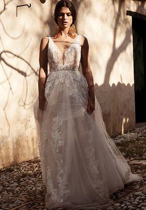 Lillian West 66063 A-Line Wedding Dress