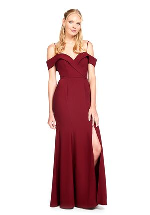 Bari Jay Bridesmaids 2022 Off the Shoulder Bridesmaid Dress
