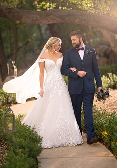 Essense of Australia D2815 Ball Gown Wedding Dress