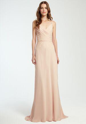 Monique Lhuillier Bridesmaids 450360 V-Neck Bridesmaid Dress