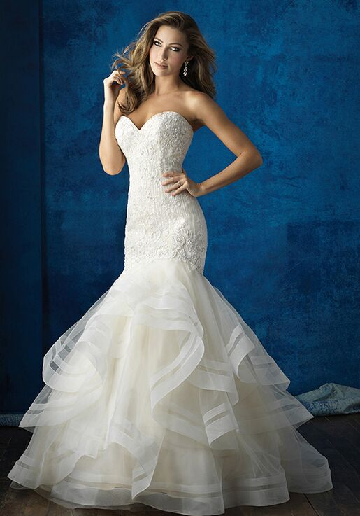 Allure Bridals 9364 Wedding Dress The