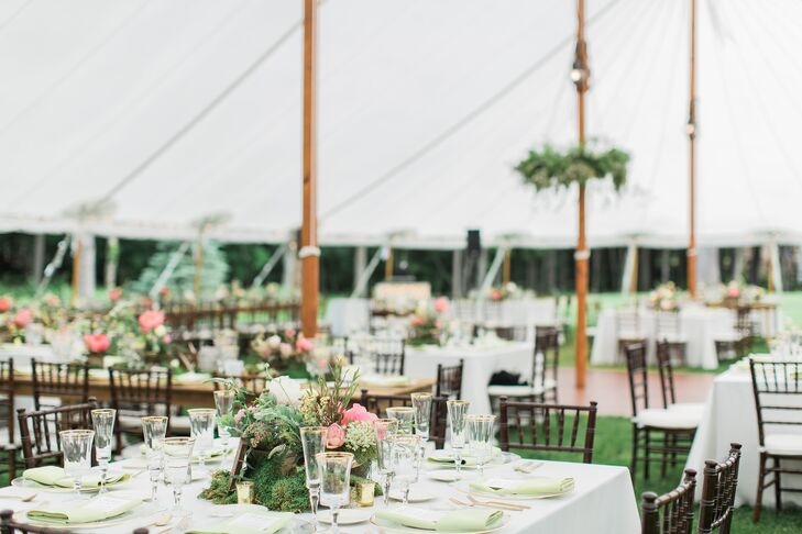 Whimsical, Woodland Tented Reception