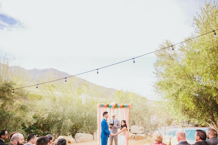 Ace Hotel Palm Springs Outdoor Ceremony