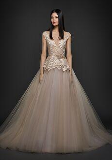 Lazaro 3750 Ball Gown Wedding Dress