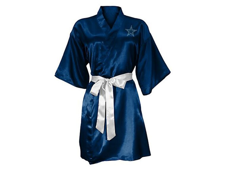 Football bridesmaid robe