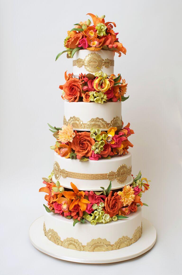 Cake Designer Ron BenIsrael Talks Wedding Cake Trends - Ben Israel Wedding Cakes