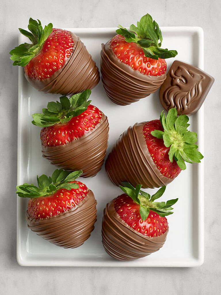 Chocolate covered strawberries cute Valentine's Day gift for her
