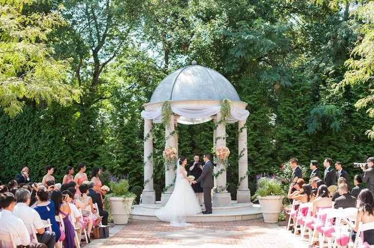 Outdoor Ceremony at Florentine Gardens