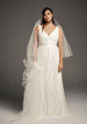White by Vera Wang Vera Wang Style 8VW351448 Sheath Wedding Dress