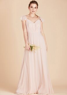 Birdy Grey Kae Bridesmaid Dress V-Neck Bridesmaid Dress
