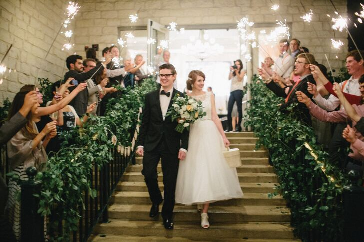 Sparkler Recessional from Austin Country Club