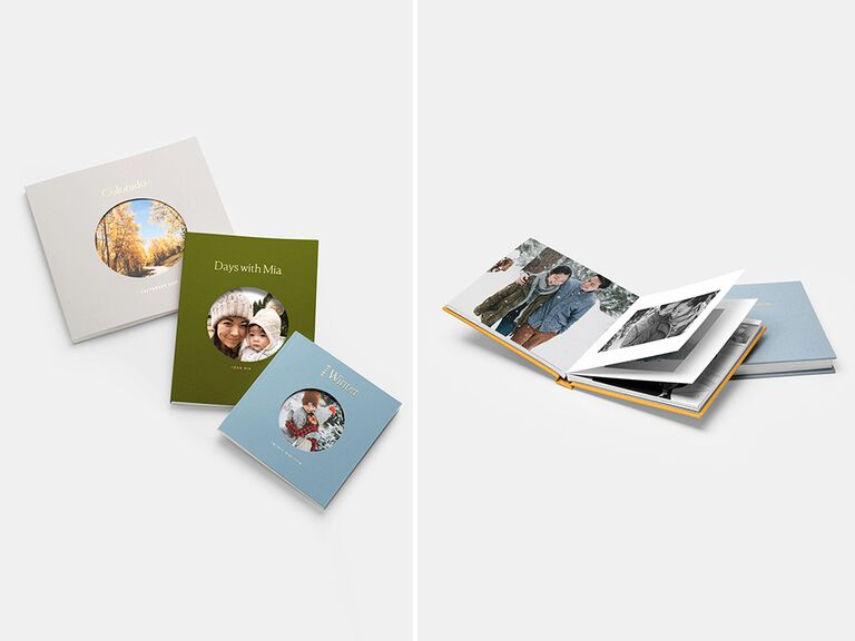Custom photo book daughter-in-law gifts