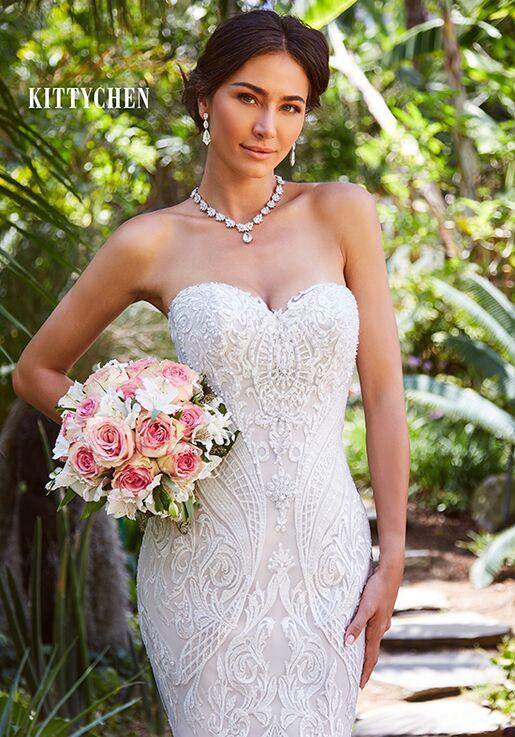 KITTYCHEN AURORA, H1956 Mermaid Wedding Dress