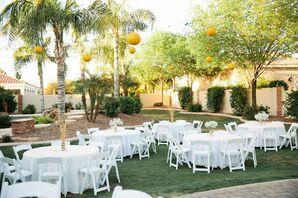 Backyard Reception in Gilbert, Arizona Private Residence