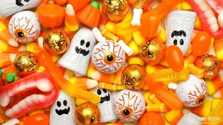 Fun Halloween Zoom Background - Halloween Treats