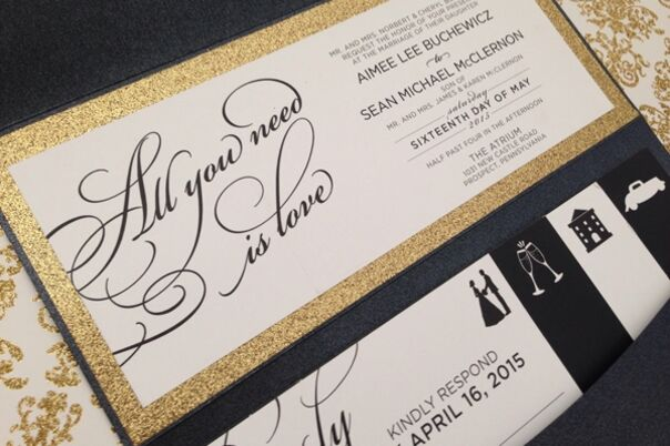Invitations Paper In James City Pa The Knot