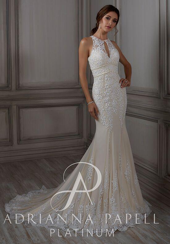 cebdffbe7e1 Adrianna Papell Platinum Ada Wedding Dress - The Knot