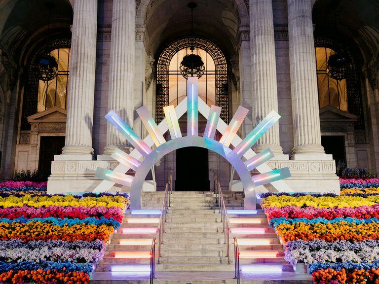 the knot gala entrance