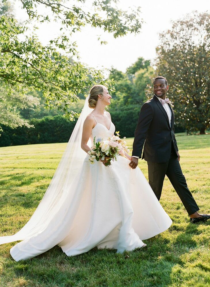 Anne and Sanford met in medical school at the University of Virginia so a wedding celebration in the same rolling hills as their alma mater was just w