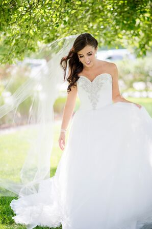 Classic Strapless Ball Gown