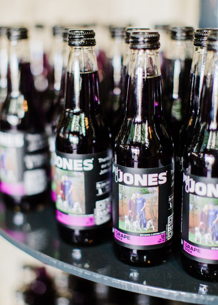 Personalized Jones Soda Favors
