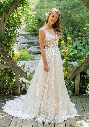 Lillian West 66024 A-Line Wedding Dress