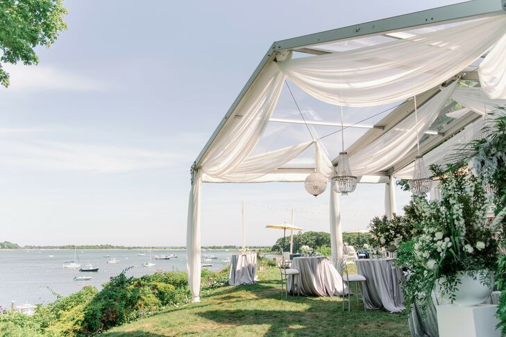 Tented Waterfront Reception in Cape Cod, Massachusetts